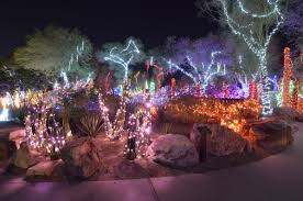 ethel m chocolate factory las vegas holiday lights ethel m cactus garden lights up for the holiday season photos