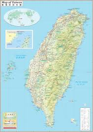 China Map Cities by Taiwan Maps Maps Of Taiwan Republic Of China