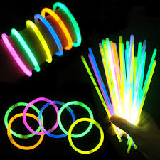 glow sticks 100pcs lot multi color glow stick light bracelets for party hot