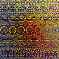 psychedelic colourful pattern unique abstract artwork creative