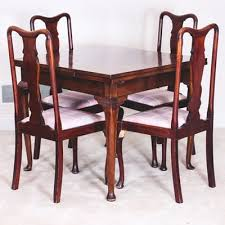 Retro Dining Table And Chairs Vintage Dining Furniture Auction Antique Dining Furniture For