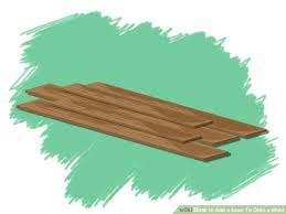 How To Build A Lean To Shed Plans by 6 Ways To Add A Lean To Onto A Shed Wikihow