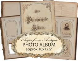 Victorian Photo Album Digital Album Etsy