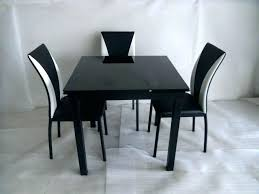 Black Glass Extending Dining Table Black Dining Table Coffee Table Beautiful Table Sets Small