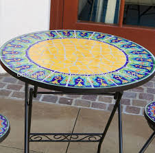 gorgeous mosaic tile outdoor coffee table mosaic tiled coffee