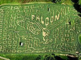 Vermont travel ideas images Top 10 corn mazes corn maze vermont and travel channel jpg