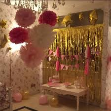 Gold Foil Curtain by Gold Foil Fringe Curtain 1 2m Door Curtains Tinsel Shining Party