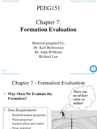formation evaluation ppt oil well petroleum