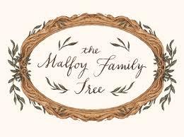 the malfoy family tree pottermore