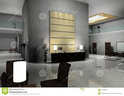 modern design interior of hall corridor stock photo image 22780650