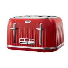 Red Kettle And Toaster Breville Impressions Collection Red Kettle And Toaster Set