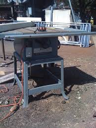 Rockwell 10 Table Saw 1 Rockwell 10 Contractors Saw Table Saw Before 1980 Machine