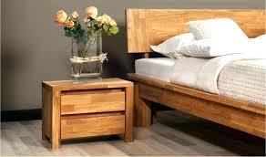 chambre a coucher moderne en bois chambre bois massif contemporain lit contemporain bois massif lit