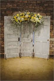 wedding backdrop doors 35 dreamy indoor wedding ceremony backdrops indoor wedding