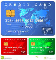 free debit cards credit or debit card design template royalty free stock