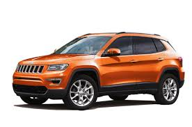 orange jeep compass jeep compass replacement will be presented at the paris motor show