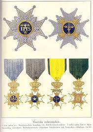 orders decorations and medals of sweden