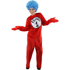 cat in the hat costume dr seuss the cat in the hat thing 1 or thing 2 costume