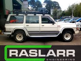 nissan patrol nissan patrol gq y60 rock sliders email for shipping quote before orde