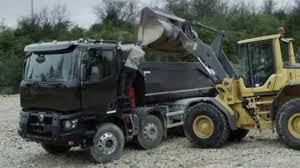 C Range Renault Trucks Construction Range Vidéo Dailymotion