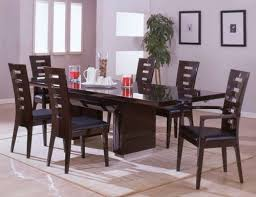 White Modern Dining Room Sets Dining Room White Modern Dining Table With Glass Base With