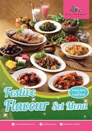 lexus biscuit malaysia festive flavour set menu 2016 grandmama u0027s malaysia food malaysia