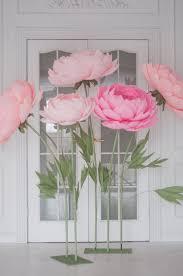 Flowers On - 25 best flowers ideas on paper flowers diy big