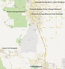 Henderson Colorado Map by Dan U0027s Skate Pages