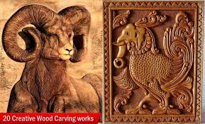 creative wood sculptures 20 creative wood carving works from around the world