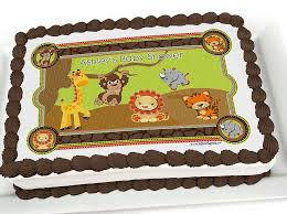 safari cake toppers my favorite baby shower cake ideas tons of ideas