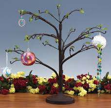 blown glass display stands