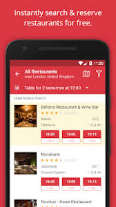 open table gift card review opentable book restaurants apps on google play