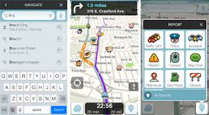 waze android waze navigation app now reads destinations from ios and android