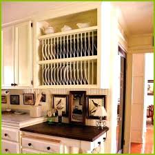 plate rack cabinet insert dish rack cabinet plastic coated wooden plate rack cabinet insert
