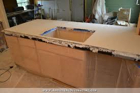 Concrete Bathtub Mold Diy Pour In Place Concrete Countertops U2013 Part 2