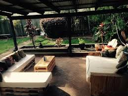 pallet patio l shape sofa and coffee table 99 pallets