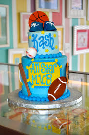 sports themed all star baby shower cake www leahssweettreats com