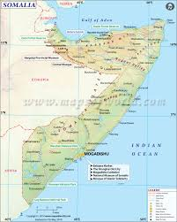 Africa Time Zone Map by Somalia Map Map Of Somalia