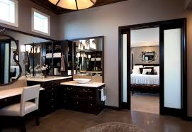 stylish transitional master bathroom robeson design