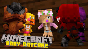 minecraft baby day care five nights attack the youtube