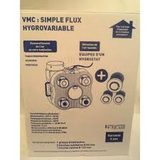 groupe extraction cuisine kit ventilation v m c hygrovariable chantier discount materiel