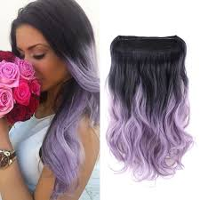 ombre hair extensions ombre hair synthetic invisible flip in hair extensions 20 inch