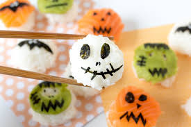 Monster Ball Halloween by This Monster Sushi Will Make Your Halloween Party Spooktacular
