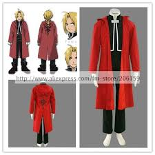 Edward Elric Halloween Costume Buy Wholesale Edward Elric Cloak China Edward Elric