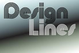 design lines font churchward design lines fonts