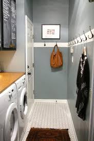 laundry design coat mudroom laundry room white paint stripe with coat hooks simplicity