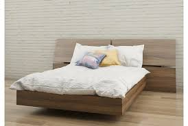 Target Platform Bed Alluring Size Platform Bed Alibi Walnut Nexera Target