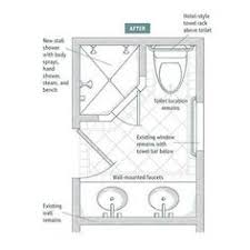 Bathroom Floor Plans With Walk In Shower The Master Bathroom Floor Plans With Walk In Shower Above Is Used