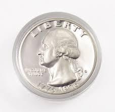 1776 to 1976 quarter 1776 1976 s 40 silverâ proofâ cameo â bicentennialâ washington
