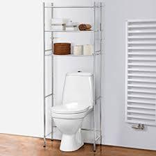 amazon com tatkraft roomy over toilet storage shelves space saver